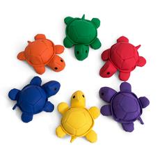 Woreczki gimnastyczne FB602-6C 6szt. Żółwie