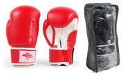 Rękawice bokserskie SMJ Hawk Red 2016