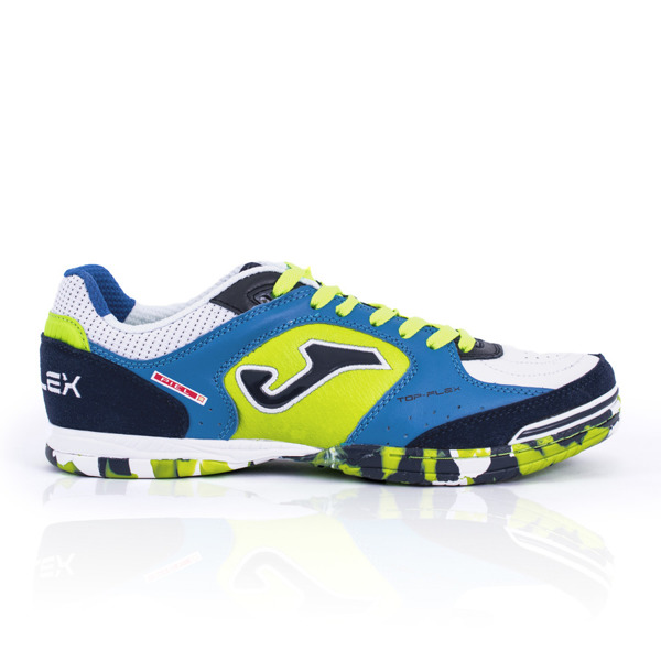 Buty halowe Joma Top Flex 805 Royal-Fluor Indoor TOPW.805.IN