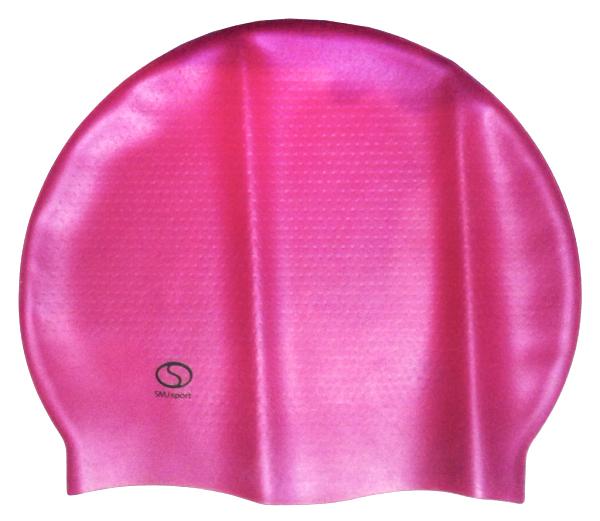 Czepek basenowy SMJ Masaż 320 różowy