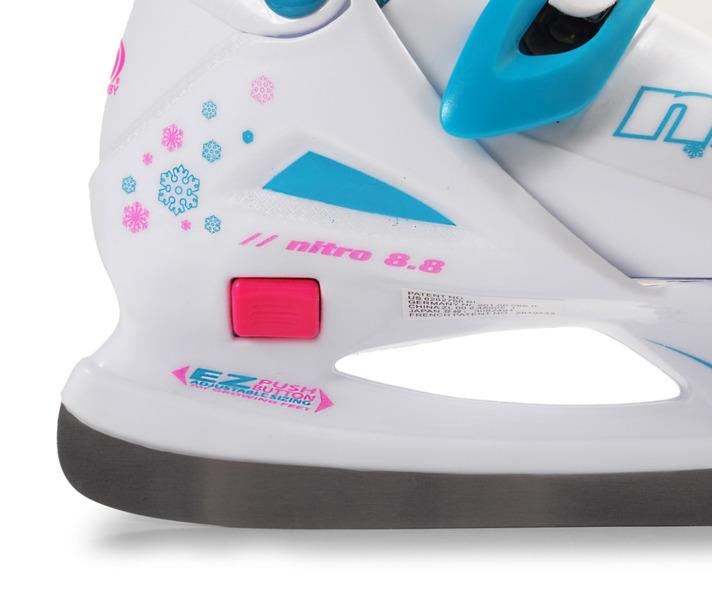 Łyżwy hokejowe regulowane Roller Derby Nitro 8.8 Girl
