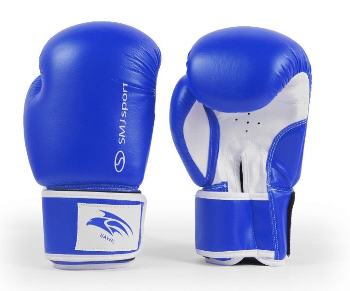 Rękawice bokserskie SMJ Hawk Blue