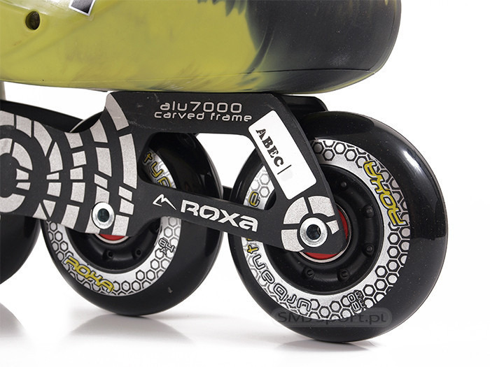 Rolki Street / Urban Roxa X-TREME MIX GREEN 80mm